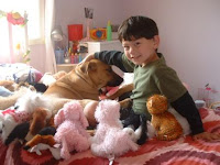 Hanging with the Webkinz and Jack