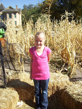 Aubree in a Corn Maze