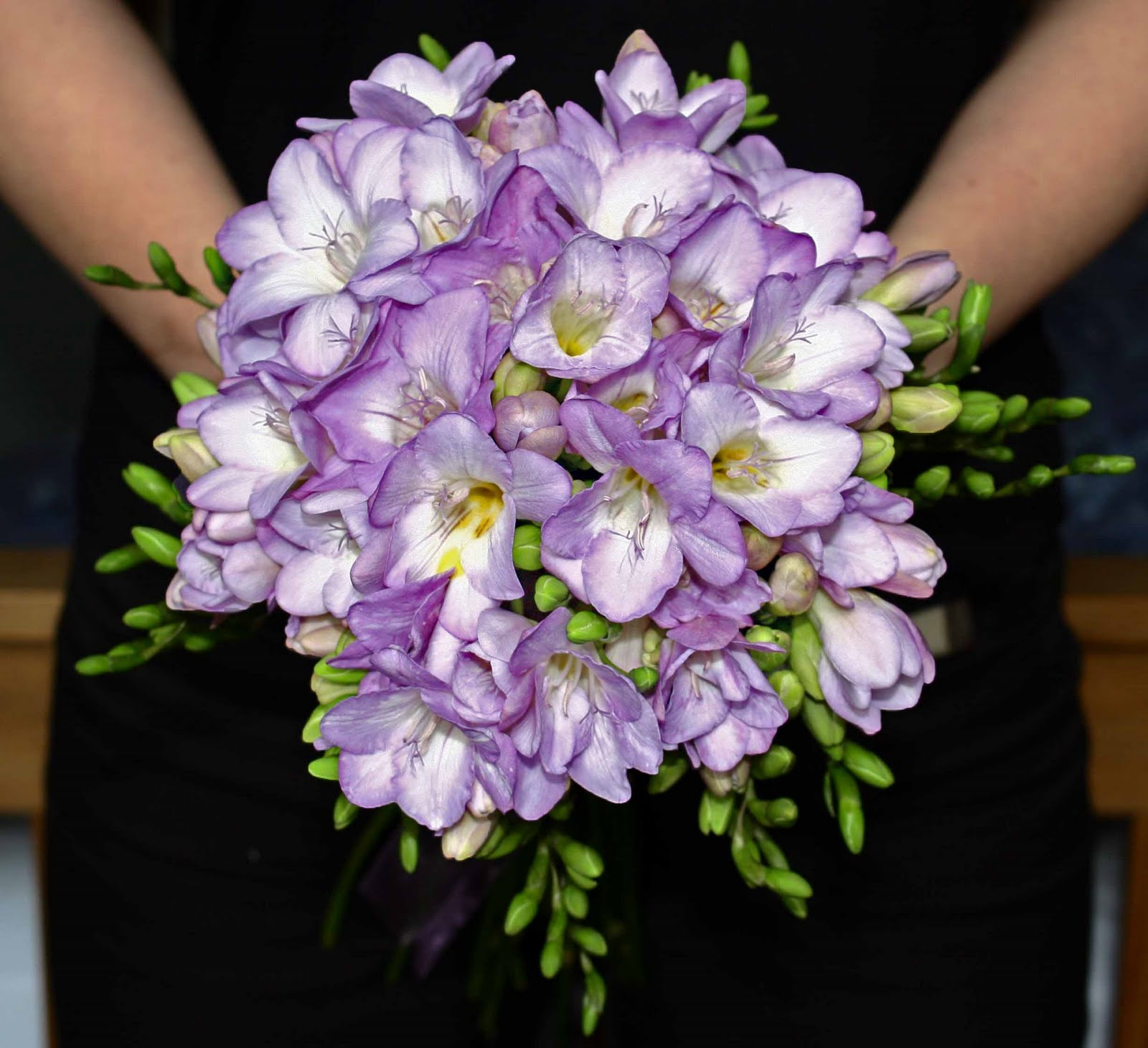 Heather hartley bouquet comprised of british grown freesias bouquet comprised of british grown freesias izmirmasajfo