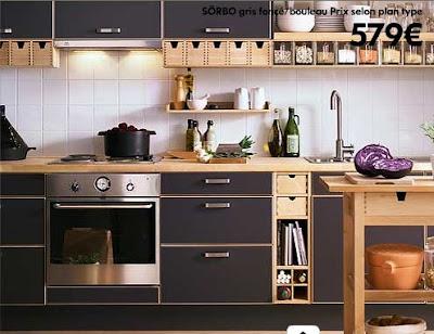 Pin la cuisine tendance en 2013 ouverte on pinterest - Ikea cuisine complete prix ...