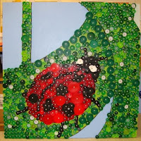 Thomas elementary art 4th grade bottle cap mural - Can you recycle bottle caps ...
