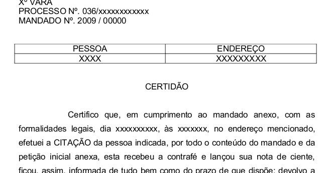 Oficial de justi a tjrs certid o em execu o de t tulo for Via extrajudicial