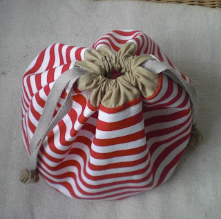 how to make a casing for a draw string bag