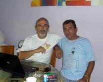 Lozano y yo.