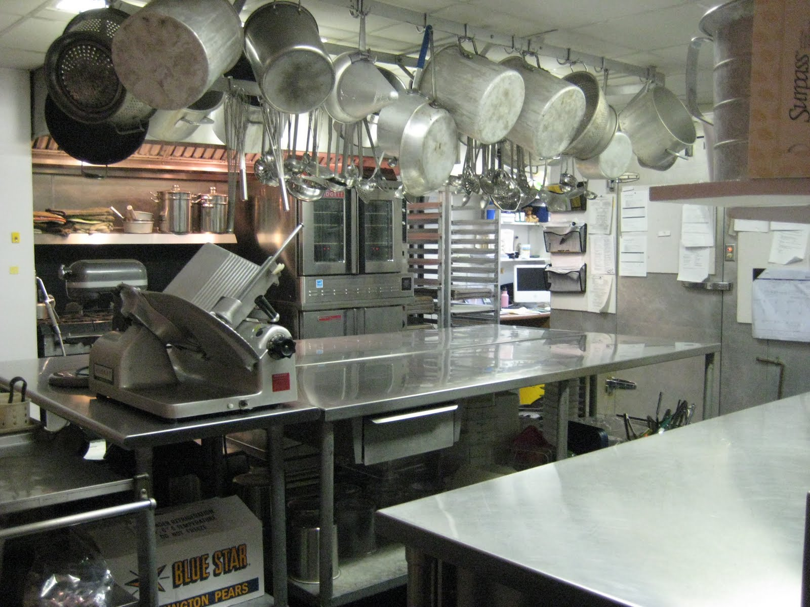 School Cafeteria Kitchen ~ Brave new lunch may