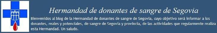 Hermandad de donantes de sangre de Segovia