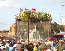 Itinerario de la visita Nro. 154 de la Divina Pastora a Barquisimeto: Mes de Febrero