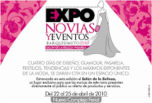 Expo Novias y Eventos 2010: Del 22 al 25 de abril en el Nuevo Complejo Ferial