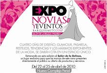 Expo Novias y Eventos 2010: Del 22 al 25 de abril en el Nuevo Complejo Ferial