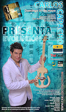 "Carlos Capacho, presenta ""EVOLUCIN"""