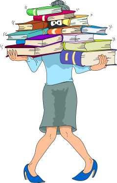 Mis libros!