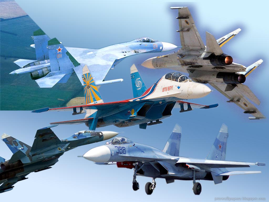 Aircrafts Wallpapers: Su-27 Flanker Wallpaper