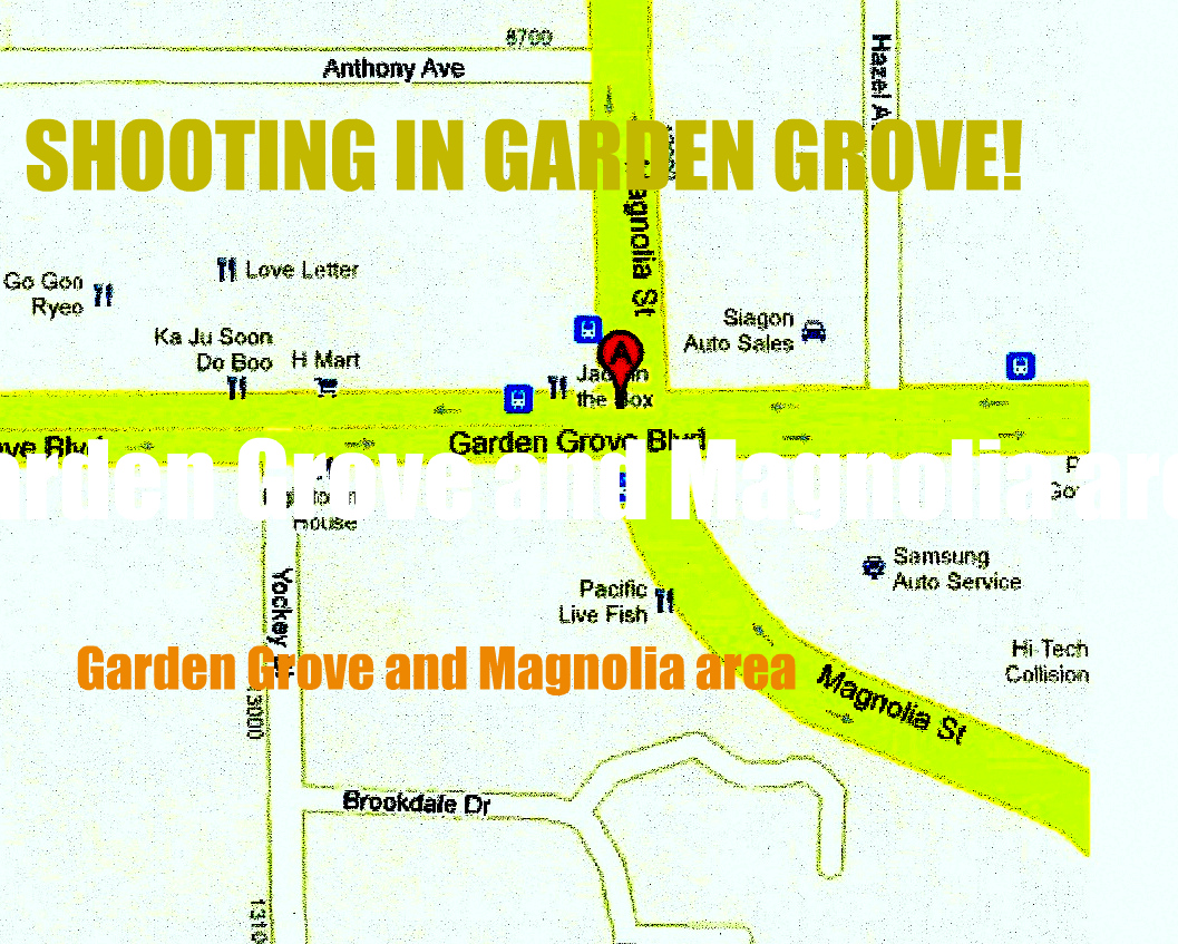 Political adviser randy economy breaking news wild shootout in garden grove at magnolia avenue for Garden grove breaking news today