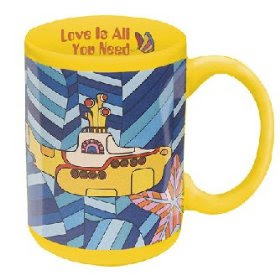The Beatles Yellow Submarine Coffee Mug