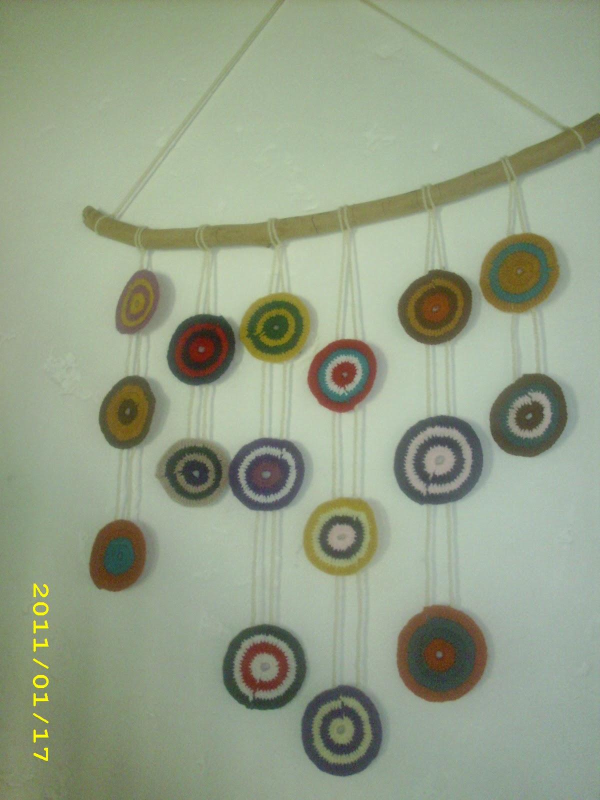 El taller de sof a adorno para pared en crochet - Adornos para pared ...