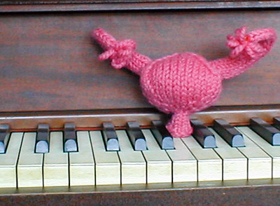 knitted uterus!!! The pattern is available here