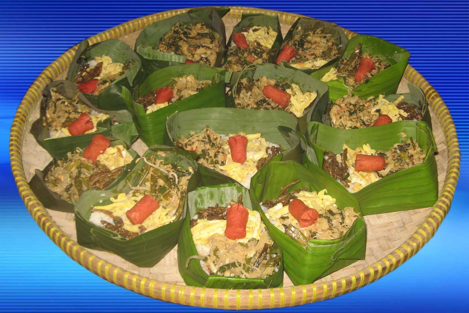 Hiasan Nasi Tumpeng Bandung