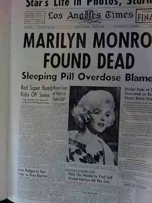 monroe%2Bdead Marilyn Monroe unseen photographs