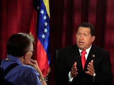 Entrevista de Larry King a Hugo Chávez. 27-09-2009