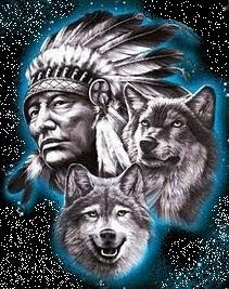Los dos lobos