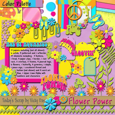 http://todaysscrapbyvickyday.blogspot.com/2009/05/flower-power-freebie-for-you.html