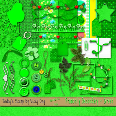 http://todaysscrapbyvickyday.blogspot.com/2009/09/primarily-primary-secondary-green.html