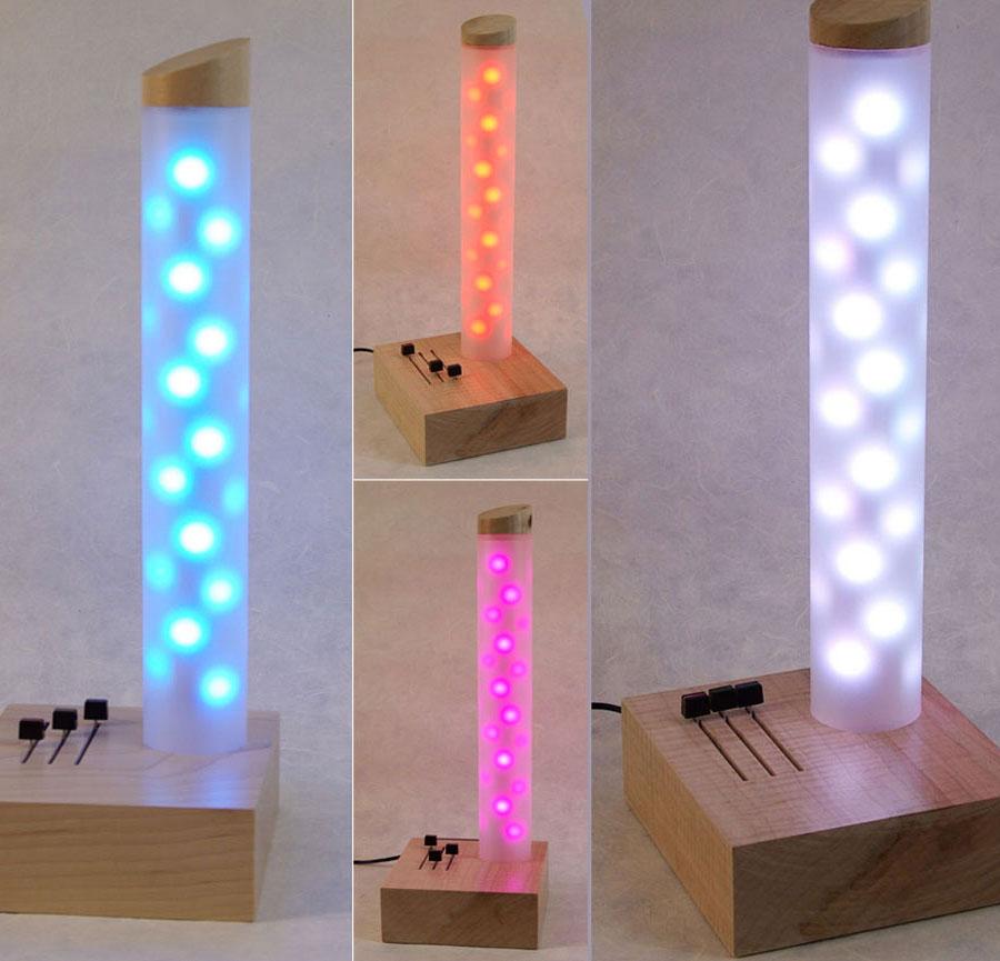 Brincando de decorar iluminando com leds for Luminarias de exterior led