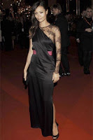 Thandie Newton - Red Carpet Fashion - BAFTAS 2008