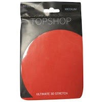 Bright coral TopShop tights - It's fashion, dahling!