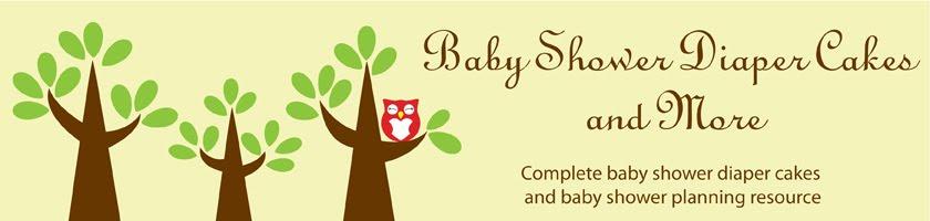 <b><center>Baby Shower Diaper Cakes</center></b>