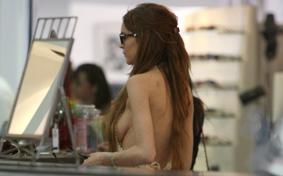 Lindsay Lohan Topless Pictures