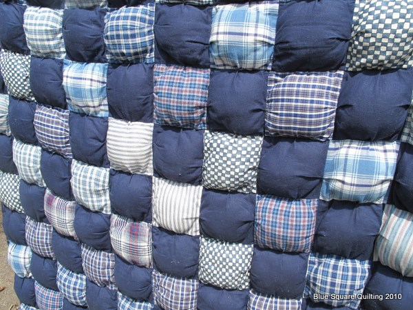Quilts | Blue Square Quilting : puff baby quilt - Adamdwight.com