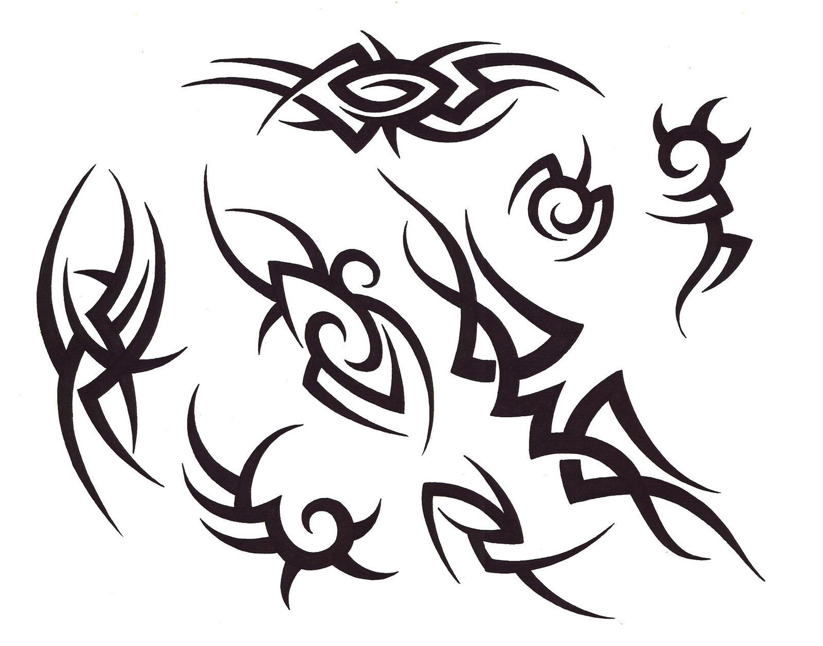 Crazy Tattoo Drawings Free Scottish Tattoo Designs