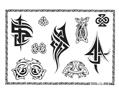 Free Tribal Tattoo Designs Lower Back