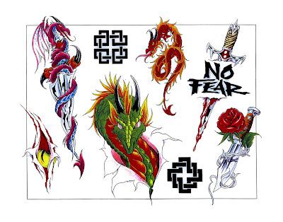 Free tattoo flash designs 102
