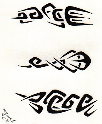 Free tribal tattoo designs 160