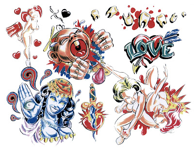 Free tattoo flash designs 53
