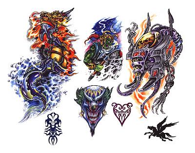 Free tattoo flash designs 78