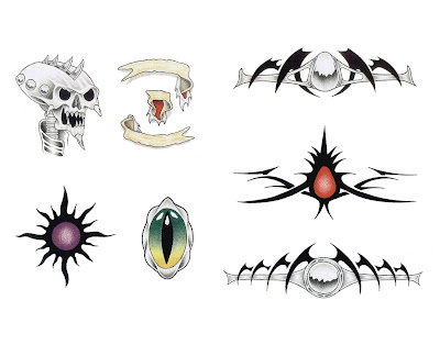 free skull tattoo flash. Free Skull Tattoo Flash.