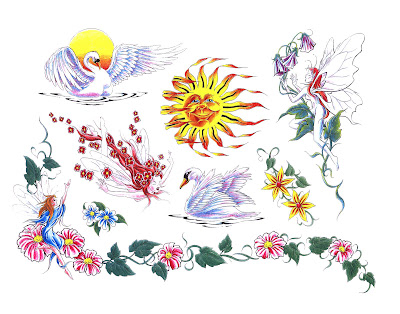Free Tattoo Designs Print on Tattoo Flash Free   Tattoo Flash Designs   Zimbio