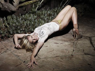 Celebrities Body Paint - Heidi Klum in Paint 3
