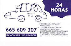 Disponibilidad de servicio de taxi 24 horas en Villa de Altura
