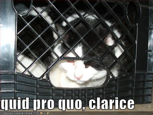 quid pro quo, clarice