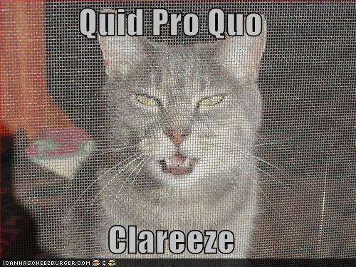 Quid Pro Quo Clareeze