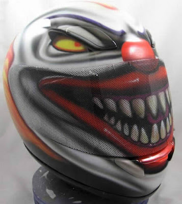 Evil Clown Helmet
