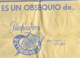 Bolsa de basura de papel regalo de Panificadora Vitoriana S.A.