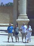 En el teatro de Palmira