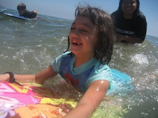 Learn to boogie board at Aloha Beach Camp!
