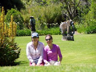 Jardín Botánico de Kirstenbosch. Ciudad del Cabo