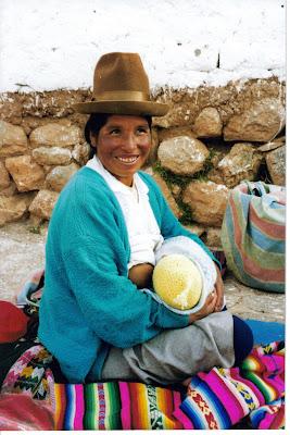 El mejor alimento. Chincheros, Cuzco. Perú